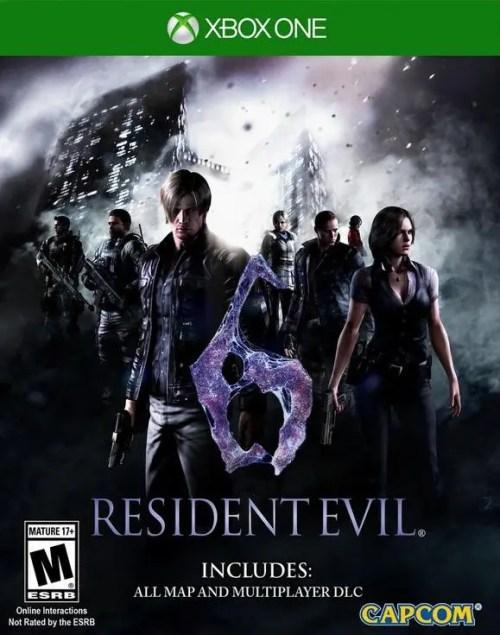 Resident Evil 6 for Xbox One
