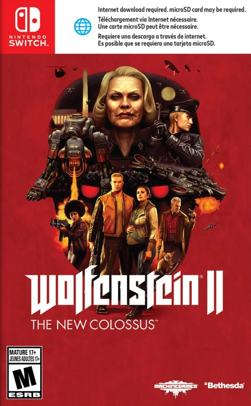Wolfenstein II: The New Colossus for Nintendo Switch