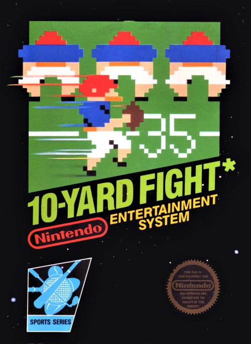 10-Yard Fight for Nintendo Entertainment System (NES)