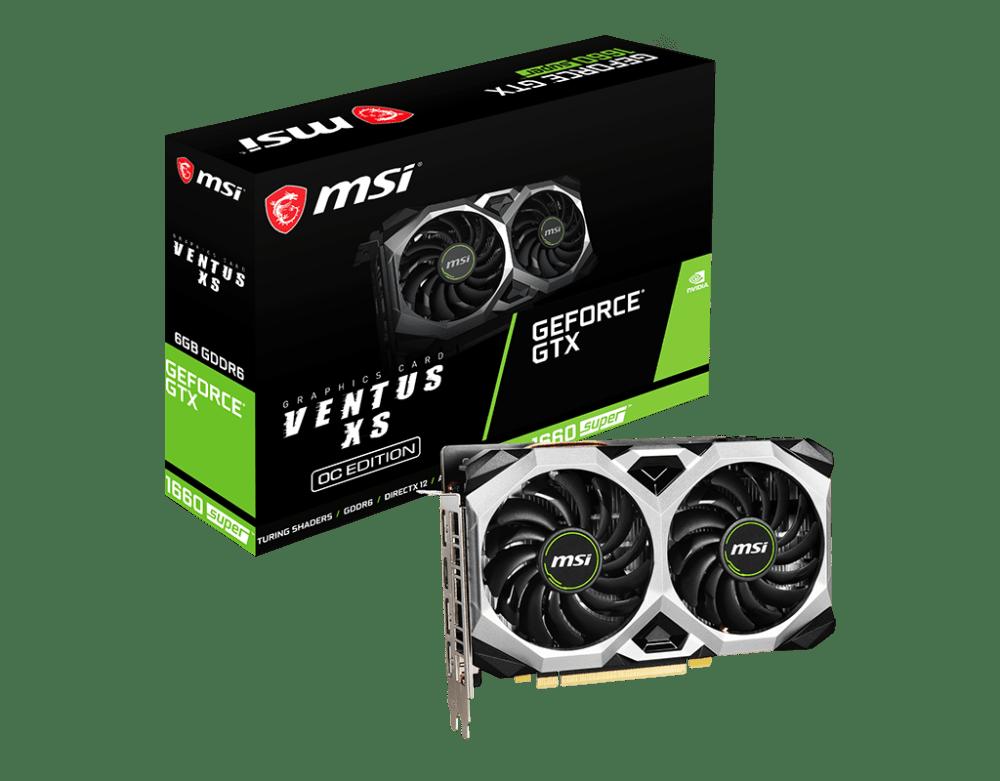 MSI GeForce GTX 1660 SUPER VENTUS XS OC Graphics Card