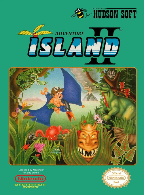 Adventure Island II for Nintendo Entertainment System (NES)