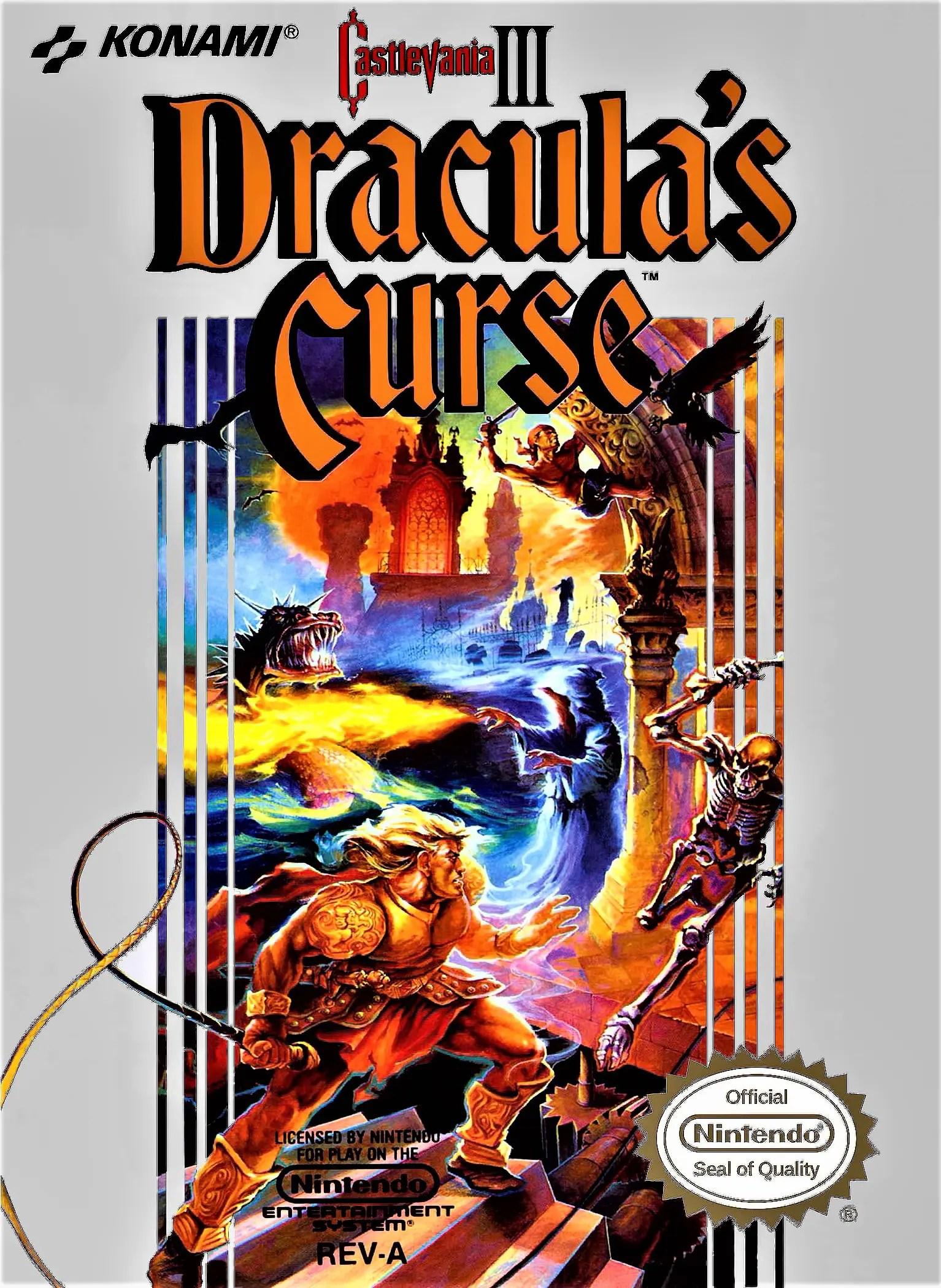 Castlevania III: Dracula's Curse for Nintendo Entertainment System (NES)