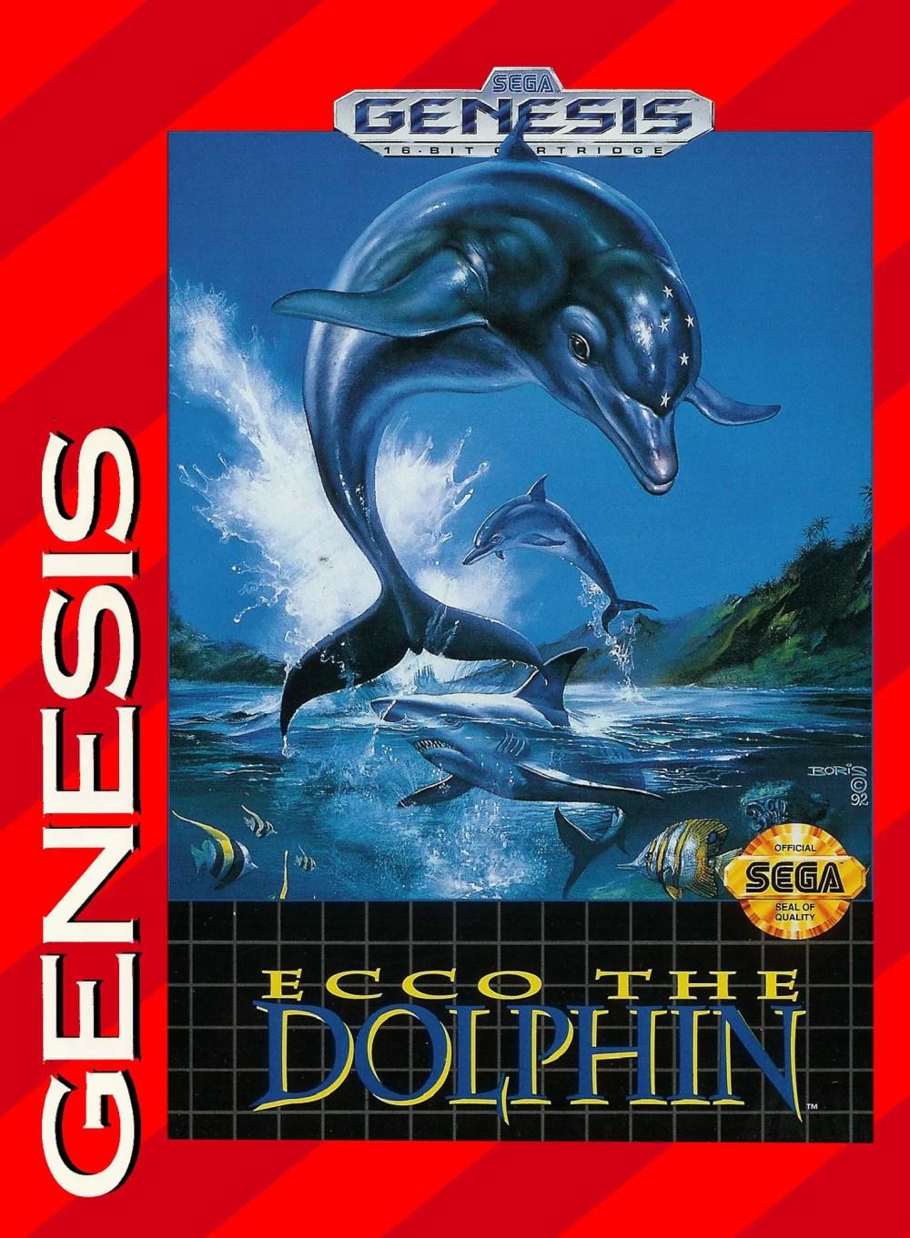 Ecco the Dolphin for Sega Genesis