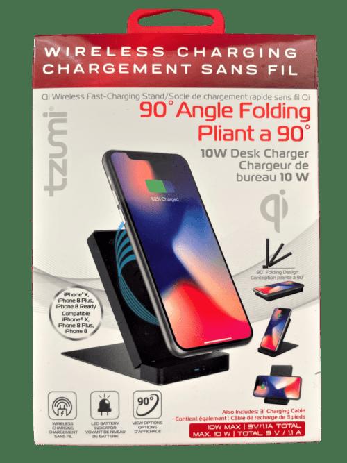 Tzumi Qi Wireless Fast-Charing Stand
