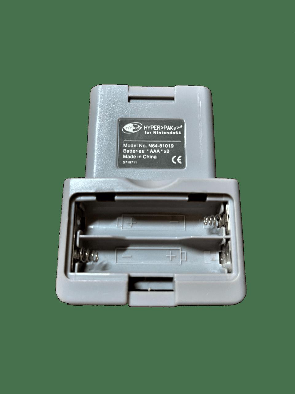 Nyko Hyper Pak Plus for Nintendo 64