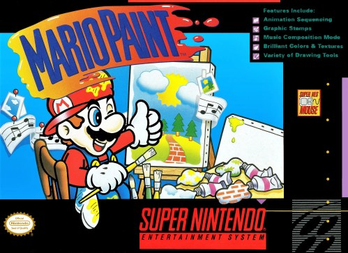 Mario Paint for Super Nintendo Entertainment System (SNES)
