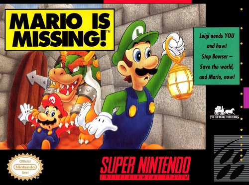 Mario is Missing! for Super Nintendo Entertainment System (SNES)