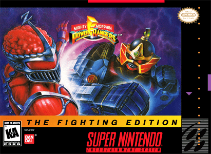 Mighty Morphin Power Rangers: The Fighting Edition for Super Nintendo Entertainment System (SNES)