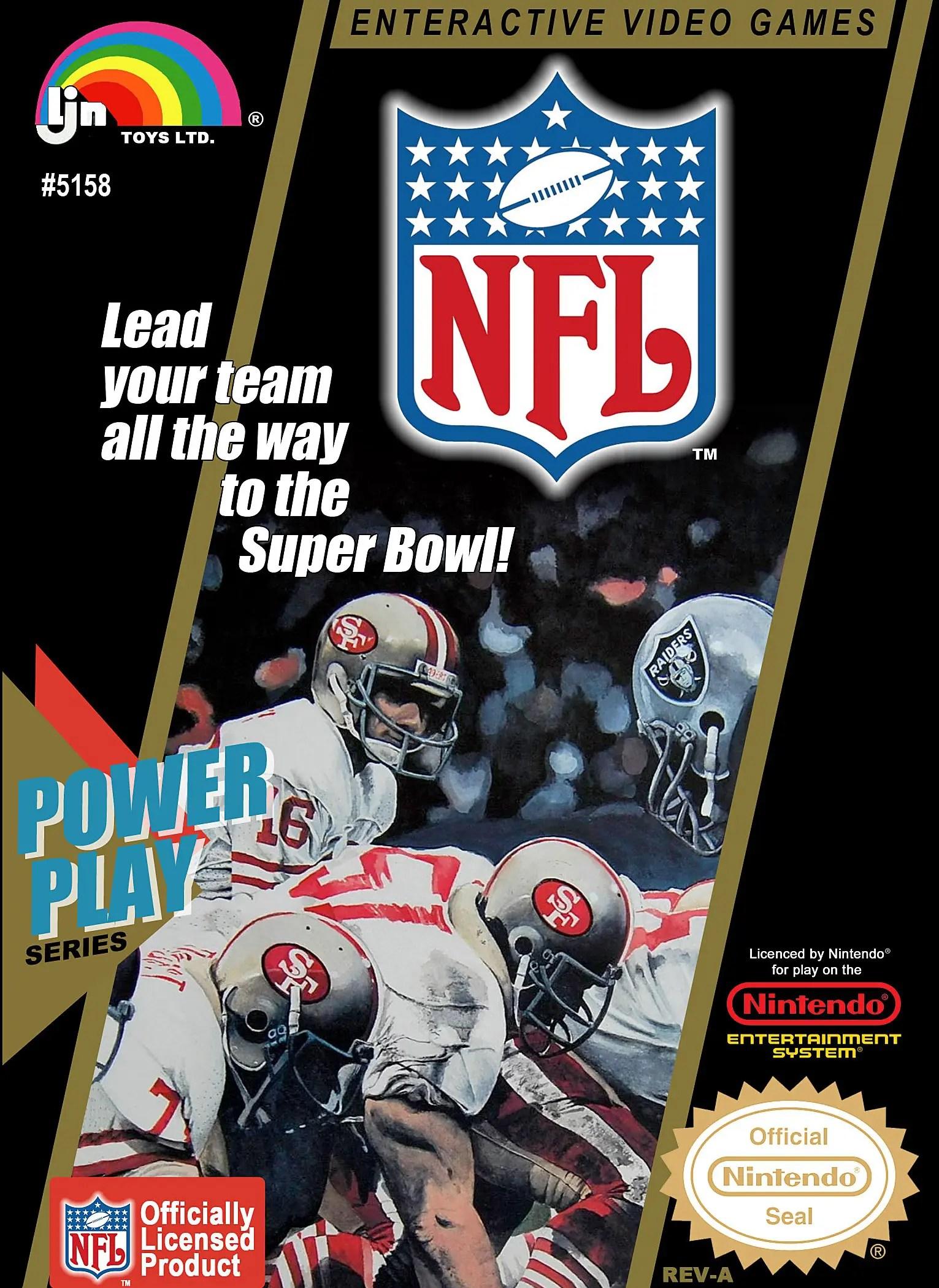 NFL Football for Nintendo Entertainment System (NES)