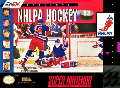 NHLPA Hockey 93 for Super Nintendo Entertainment System (SNES)