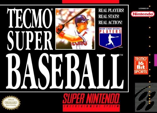 Tecmo Super Baseball for Super Nintendo Entertainment System (SNES)