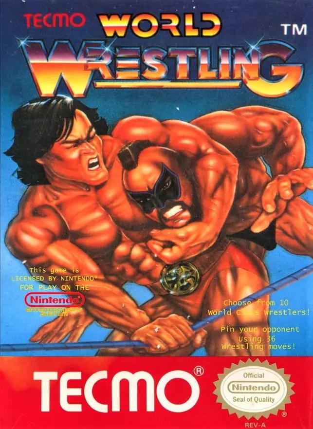 Tecmo World Wrestling for Nintendo Entertainment System (NES)