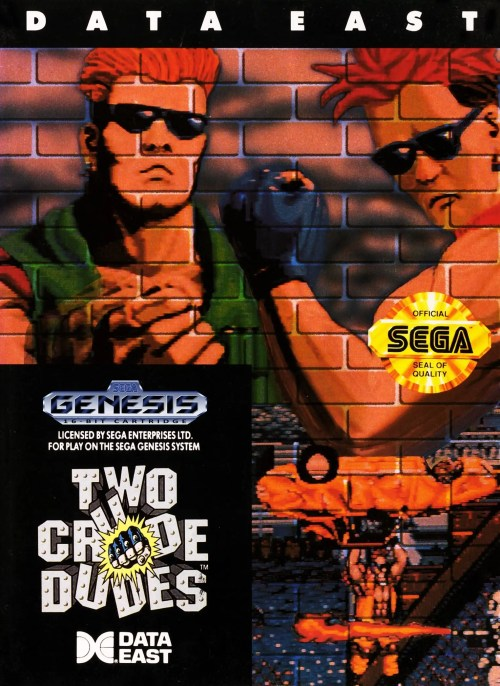 Two Crude Dudes for Sega Genesis