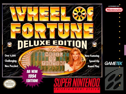 Wheel of Fortune (Deluxe Edition) for Super Nintendo Entertainment System (SNES)