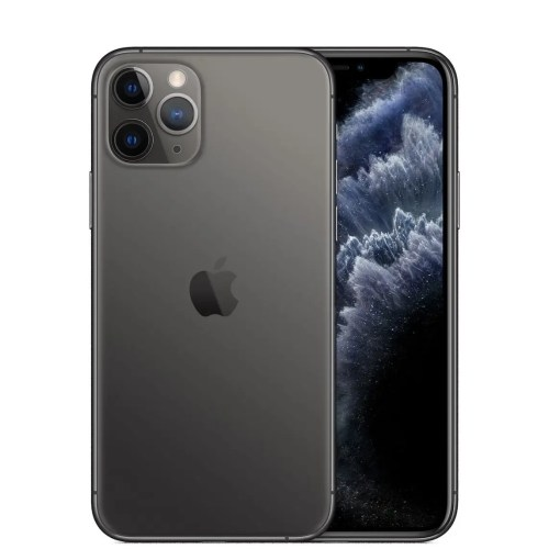 Apple iPhone 11 Pro (256 GB, Space Grey, Unlocked) (MWCM2VC/A)