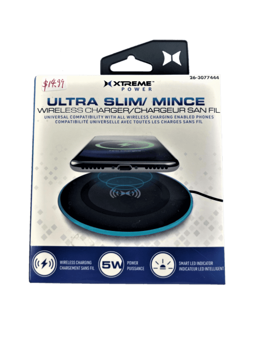 Xtreme Cables Ultra Slim Wireless Charger (XAH8-1008-BLK)