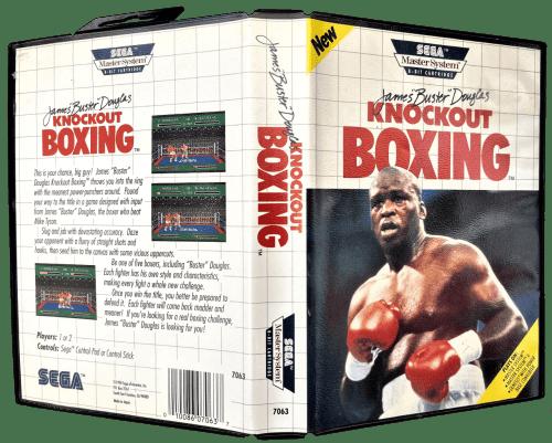 """James """"Buster"""" Douglas Knockout Boxing for Sega Master System"""