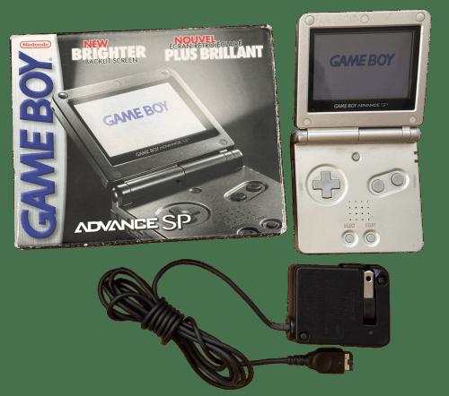 Nintendo Game Boy Advance SP (Platinum)