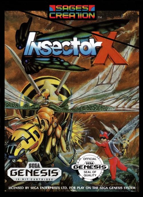 Insector X for Sega Genesis