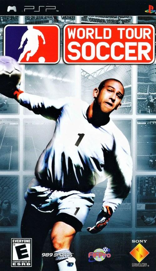 World Tour Soccer for PSP