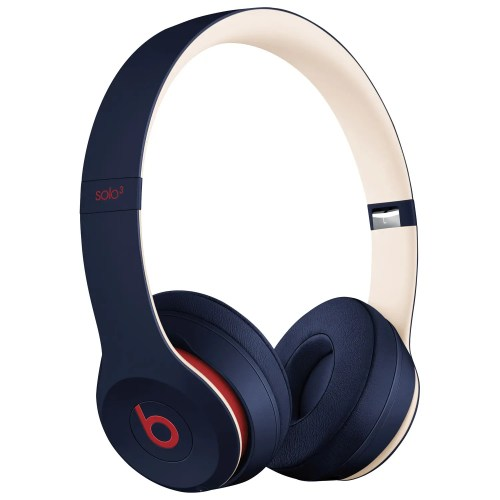 Beats by Dre Solo3 Club Collection Wireless Bluetooth On-Ear Headphones (Club Navy) (MV8W2LL/A)