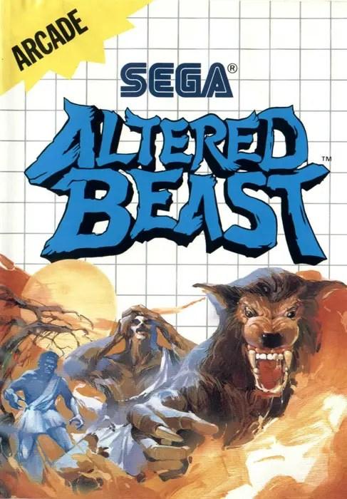 Altered Beast for Sega Master System