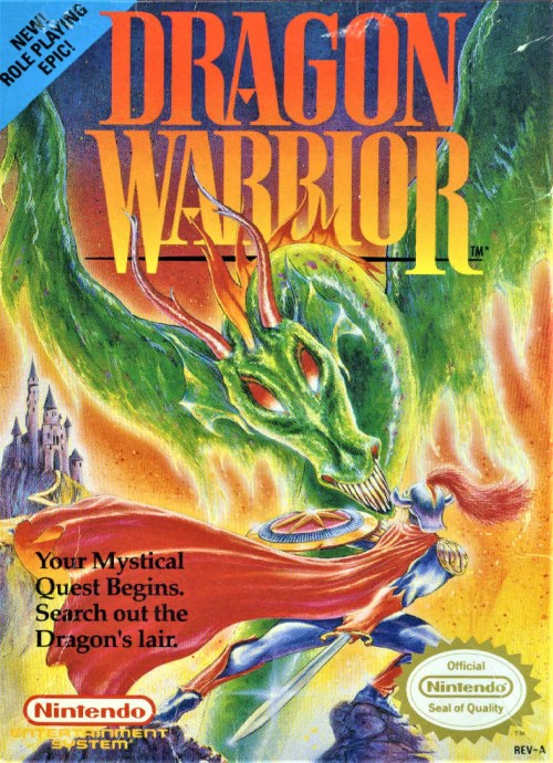 Dragon Warrior for Nintendo Entertainment System (NES)
