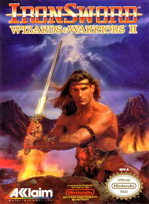 IronSword: Wizards & Warriors II for Nintendo Entertainment System (NES)