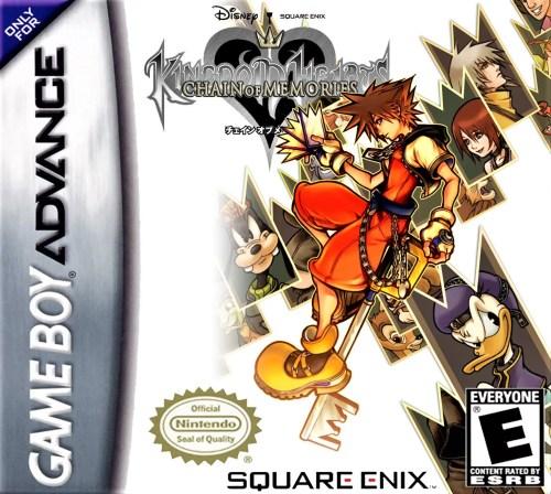 Kingdom Hearts: Chain of Memories for Nintendo Game Boy Advance