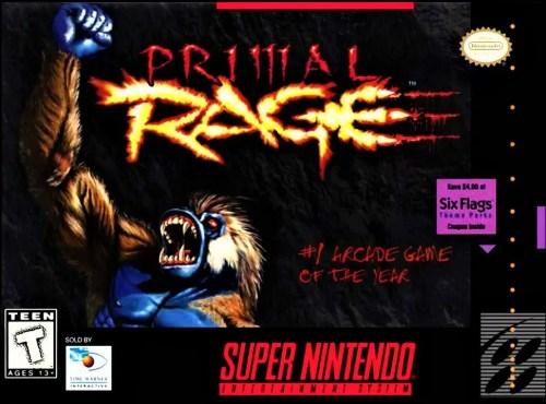 Primal Rage for Super Nintendo Entertainment System (SNES)