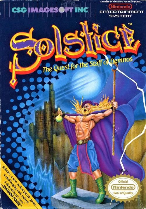 Solstice for Nintendo Entertainment System (NES)