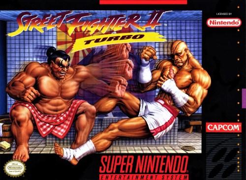 Street Fighter II Turbo for Super Nintendo Entertainment System (SNES)