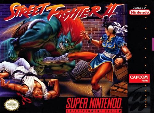 Street Fighter II for Super Nintendo Entertainment System (SNES)