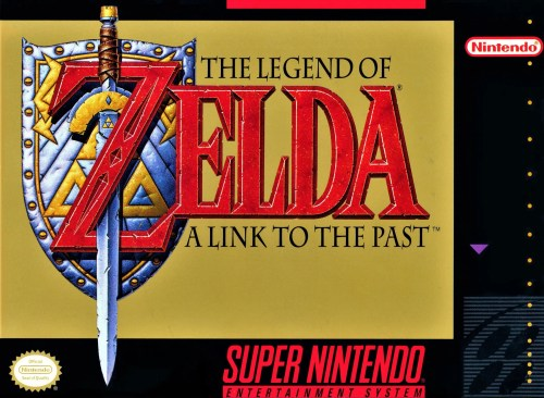 The Legend of Zelda: A Link to the Past for Super Nintendo Entertainment System (SNES)
