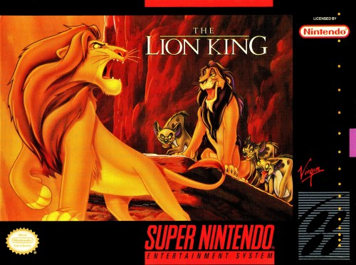 The Lion King for Super Nintendo Entertainment System (SNES)
