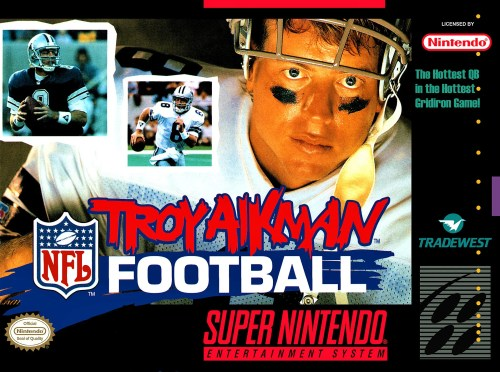 Troy Aikman NFL Football for Super Nintendo Entertainment System (SNES)