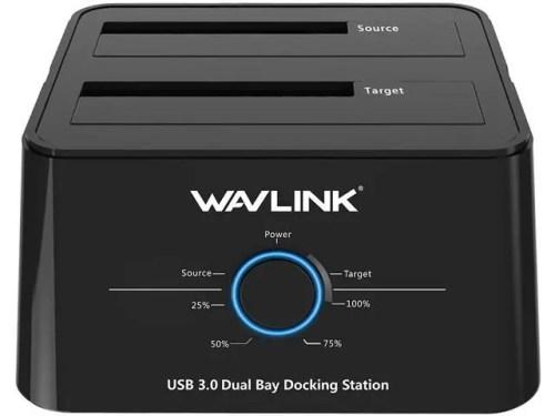 WAVLINK USB 3.0 Dual Bay Hard Drive Docking Station (WL-ST334U)