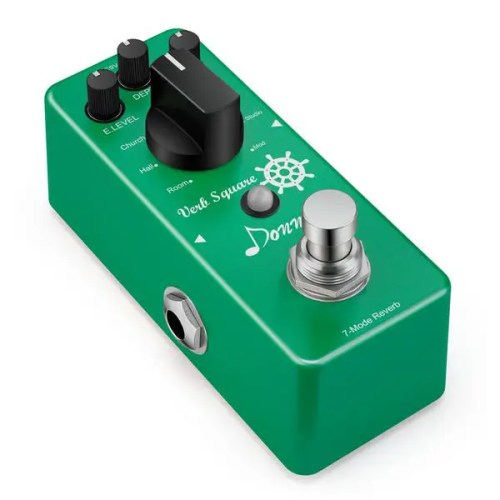 Donner Digital Reverb Guitar Effect Pedal (Verb Square Guitar Effect Pedal with 7 Modes) (EC965)