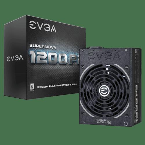 EVGA SuperNOVA 1200 P2 80+ PLATINUM 1200 W Fully Modular Power Supply (220-P2-1200-X1)