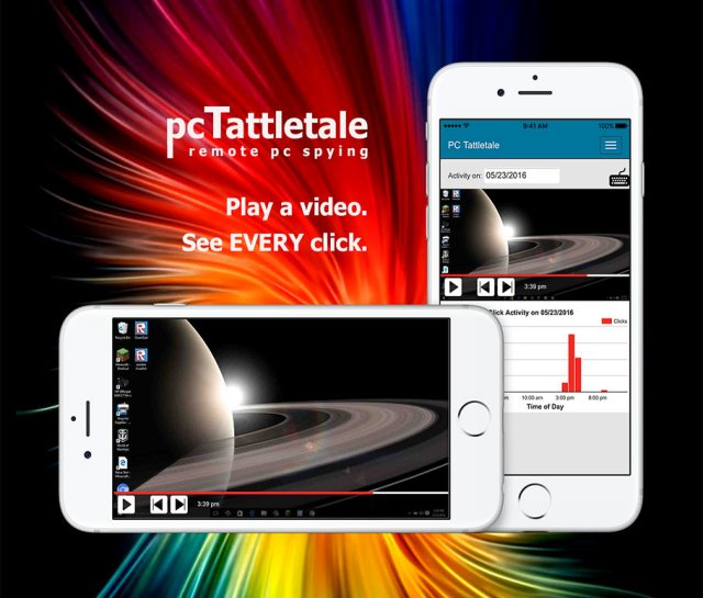PC Tattletale mobile interface