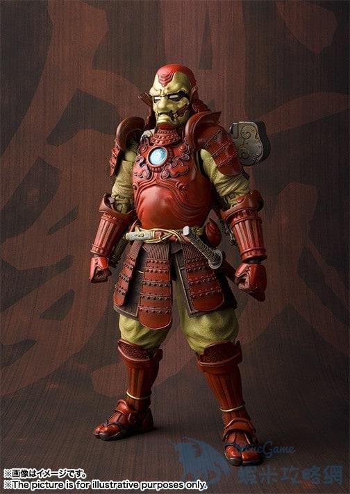 Tamashii Nations 公布推出 日本武士版鋼鐵人公仔   蝦米攻略網