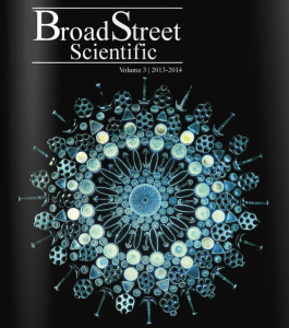 The Volume of the Broad Street Scientific that we published during my senior year.