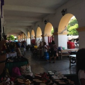 In Juchitán's center, just outside of an office where I performed an interview