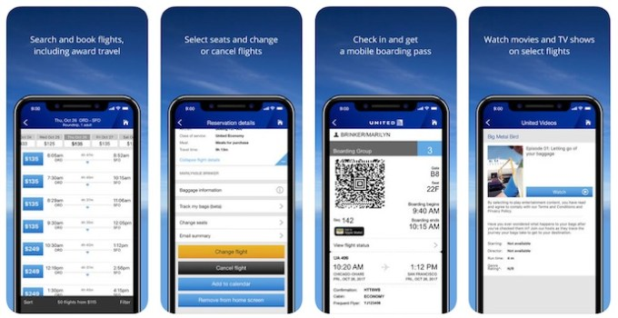 United Airlines App for PC – Download On Windows 7, 8, 10