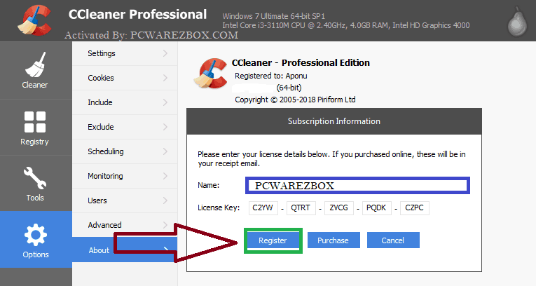 CCleaner Pro 5.74 Crack Incl Serial Key Full Version Download