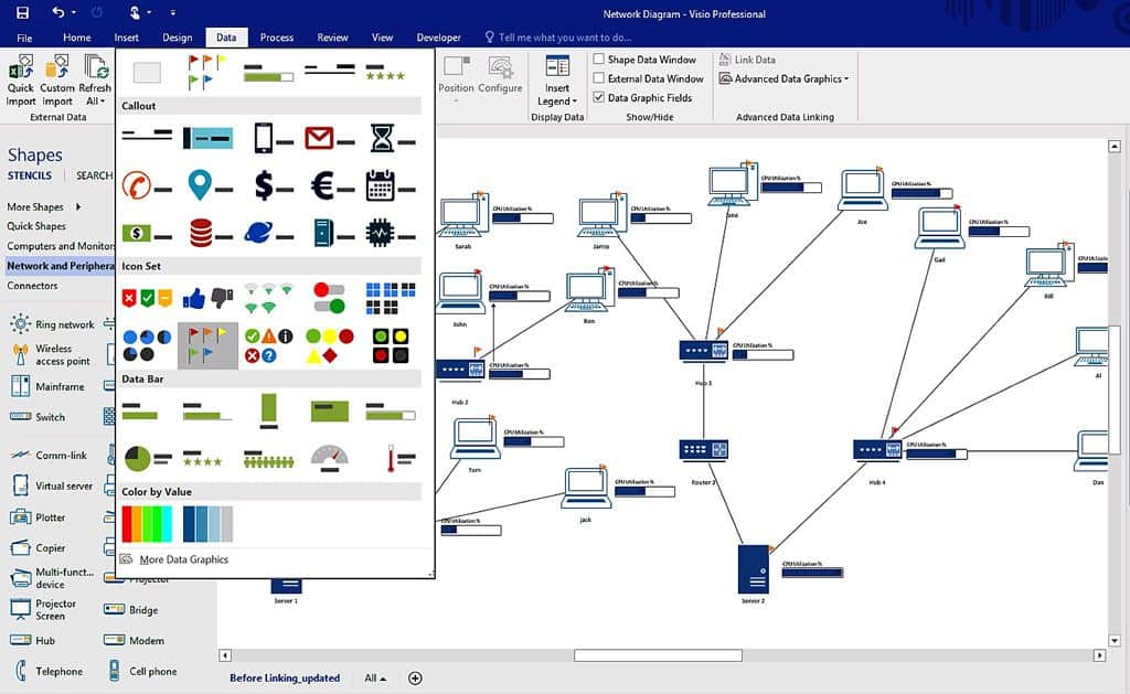 Wiring Diagram Visio travelworkinfo