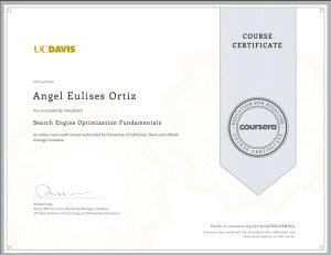 search-engine optimization-fundamentals, Coursera, Uc DAvis, Universidad de California