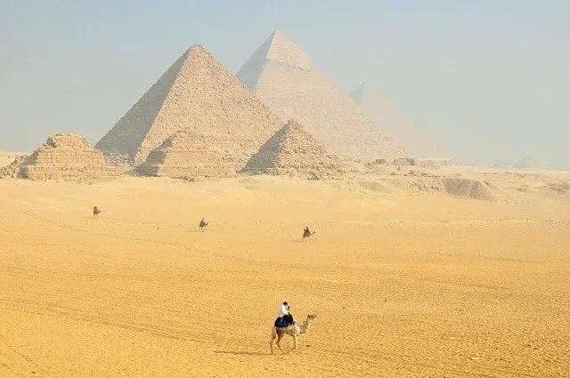 Las pirámides de Egipto, historia antigua