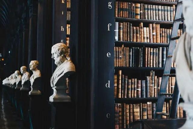 La filosofía biblioteca