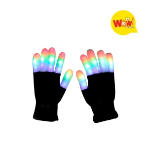 Guantes TIK TOK Luces LED Colores